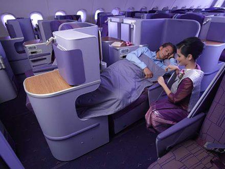 Thai Airways reisen in der Business Class